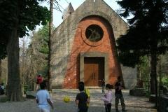La chiesa di Monte Leco